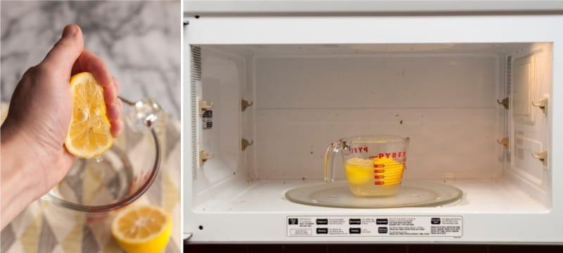 Как быстро и без усилий почистить микроволновку
