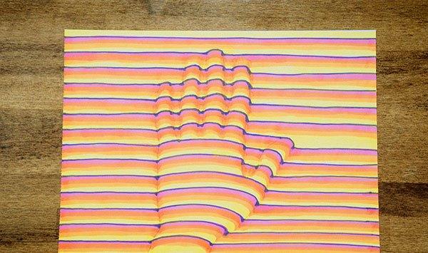 Как создать 3D-рисунок: несколько интересных уроков